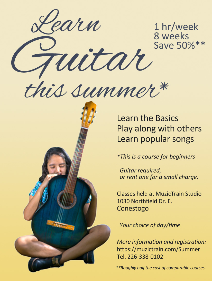 MuzicTrain - Learn Guitar This Summer